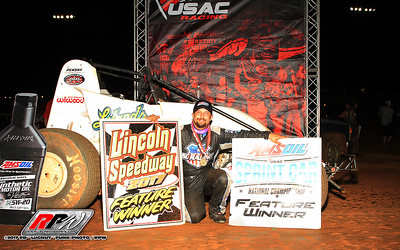 """USAC Eastern Storm At Lincoln Speedway - 6/14/17 - Ed """"Lugnut"""" Funk"""