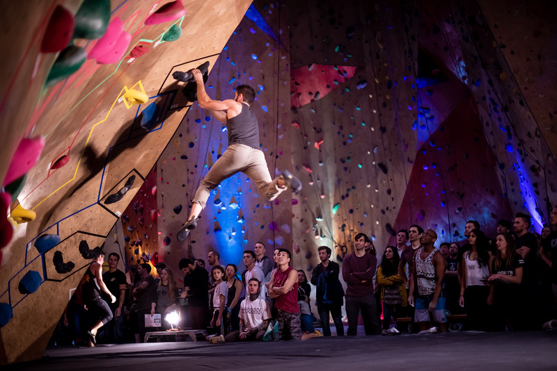 BKB Day  at Brooklyn Boulders