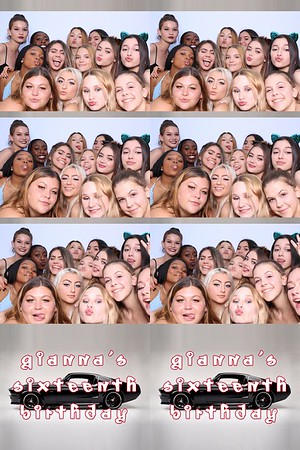 Gianna's 16th Birthday (SkinGlow Booth)