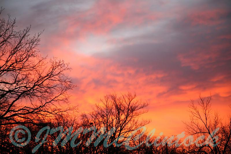 A typical Oklahoma sunrise.