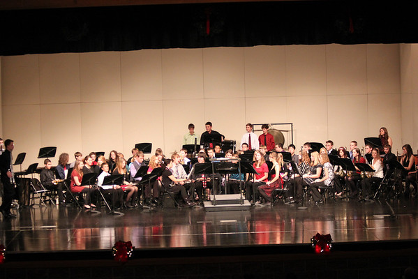 THS Symphonic Band Holiday Concert 2011