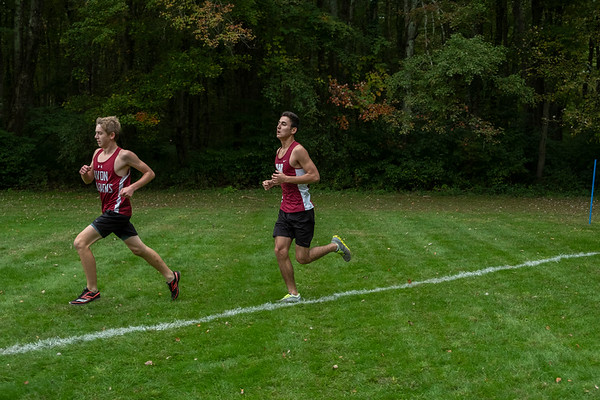 2018 Cross Country vs. Canterbury School, Worcester Academy, Pomfret School, Suffield Academy