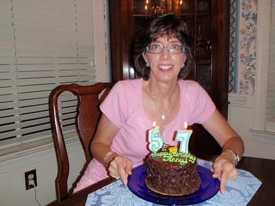 Jenny's 57th Birthday - 2013