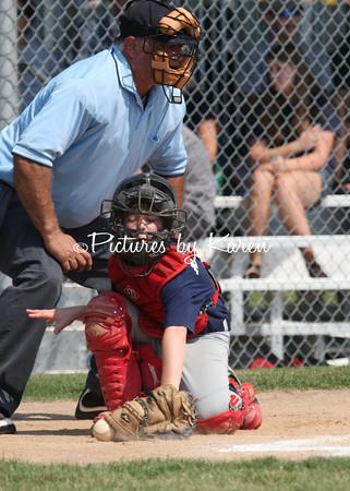 Brewers vs Cardinals (kid pitch)