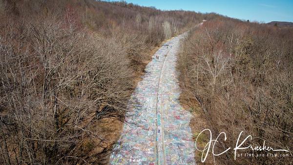 Graffiti Highway - Centralia, Pa. - 04/062020