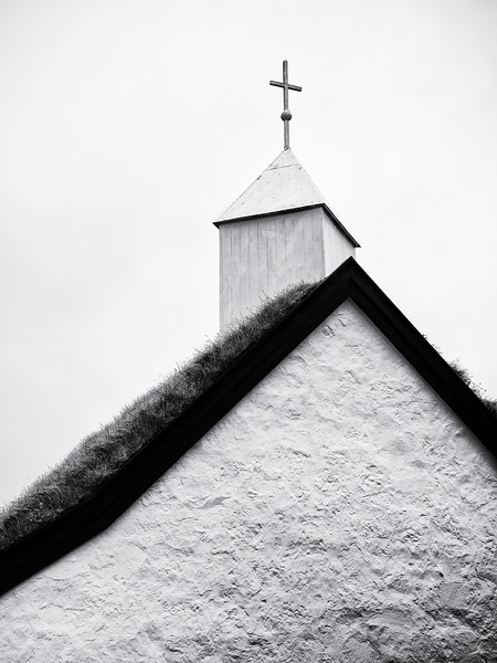 Saksun Church Roof