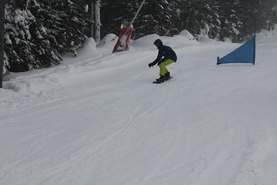 Snowboardova liga 1.kolo. Jasná - 15.1.2019