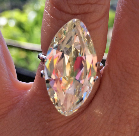 10.71ct Vintage Marquise Cut Diamond, GIA ST I1
