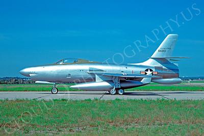 Republic XF-91 Thunderceptor Military Airplane Prototype Pictures