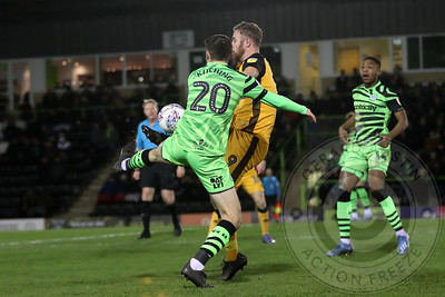 11th February 2020 Forest Green Rovers Away Season 2019-20