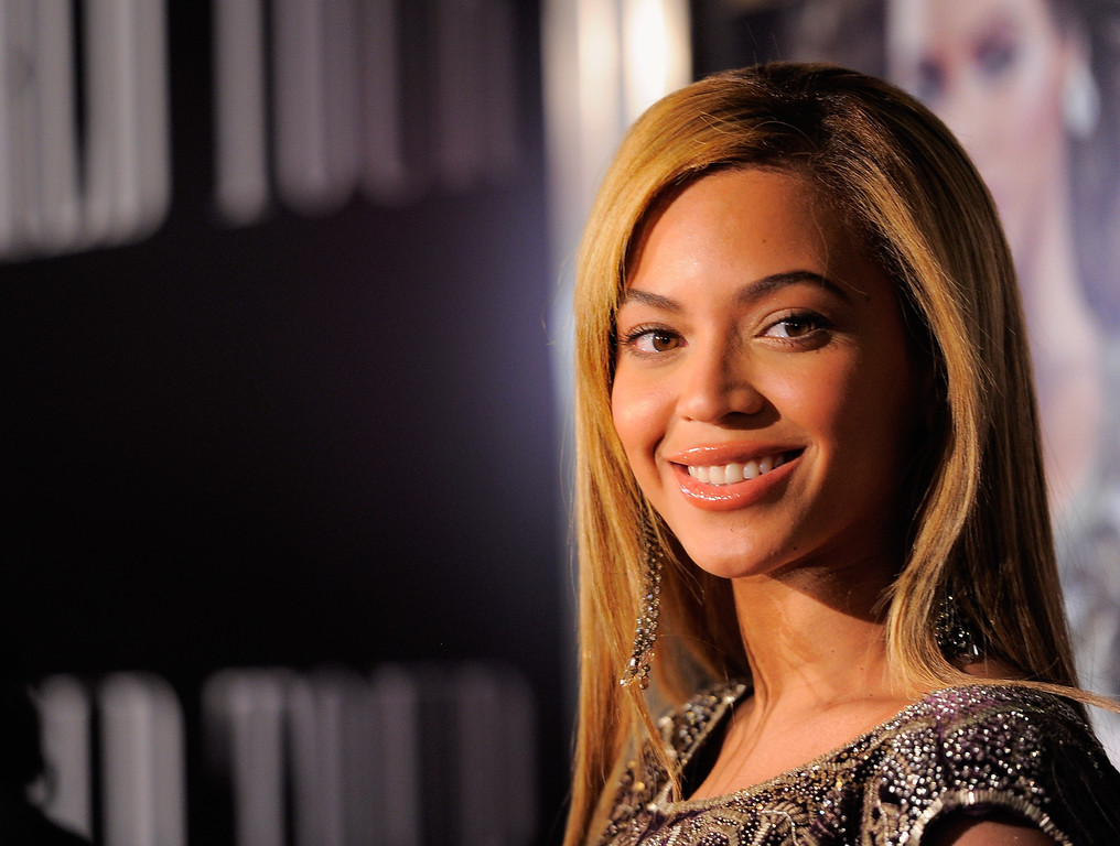 ". Singer Beyonce Knowles attends a screening of ""I AM...World Tour\"" at the School of Visual Arts Theater on November 21, 2010 in New York City.  (Photo by Jemal Countess/Getty Images)"