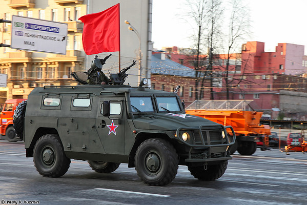 April 29th rehearsal of 2014 Victory Day Parade in Moscow