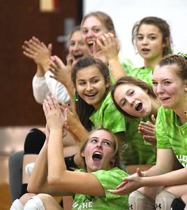 St. John at Jefferson volleyball 10/7/19