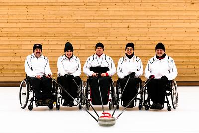 Paralympics Curlingteam Luzern Jan18