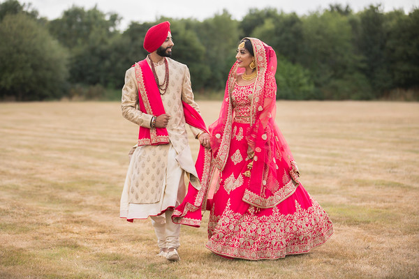 MANJEET & GURDIP'S WEDDING DAY