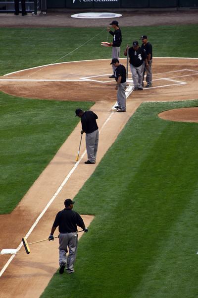 2009 September White Sox vs A's