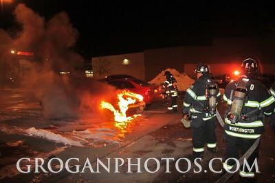Home Depot Car Fire 3/2/15
