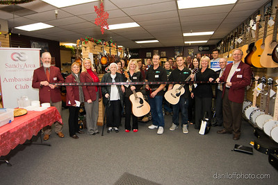 Wasatch Musician - Ribbon Cutting Ceremony - Sandy Area Chamber of Commerce