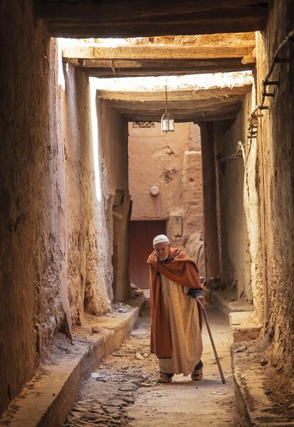 Secret passage beneath the holy city