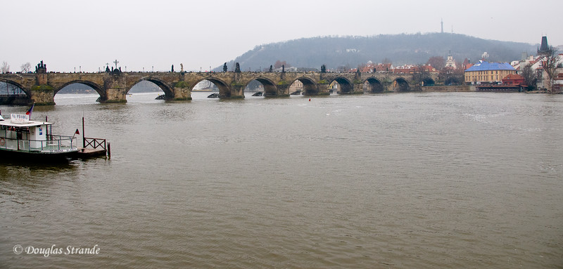 Charles Bridge from a distance