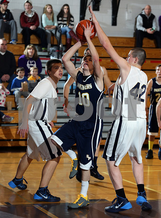 2013-2014 Coudersport Holiday Tournament Northern Potter Boys Basketball vs. Cowenesque Valley