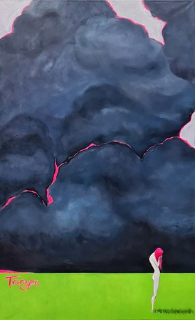 """Pink #2"" (oil) by Tanya Elizarova"