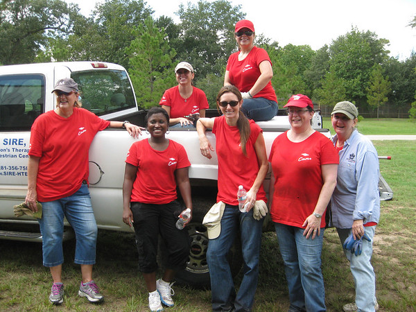 2013 Dow Cares Work Day October