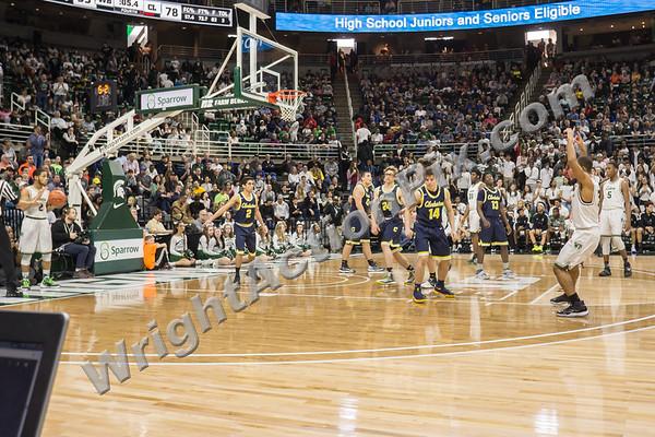 2017 03 24 Clarkston Varsity Basketball vs West Bloomfield MHSAA State Semi Final Game