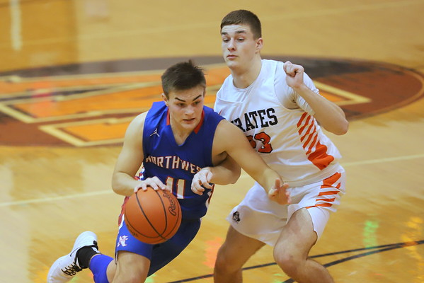 19V Boys Basketball:  Northwest at Wheelersburg 2020