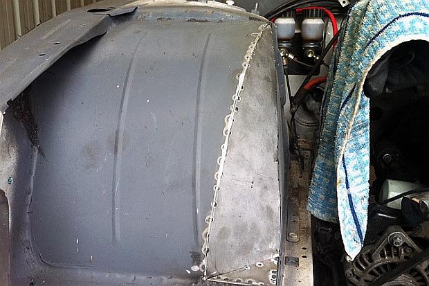 mca suspension s13 front wheel well