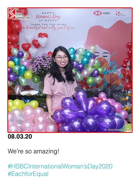 HSBC   International Women's Day instant print photo booth @ Nguyen Van Troi Office   Chụp hình lấy liền Sự kiện Quốc tế Phụ nữ 8/3   Photobooth Saigon