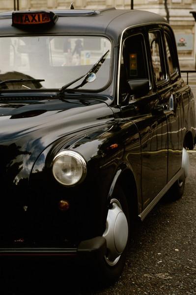 Iconic British Taxi Cab