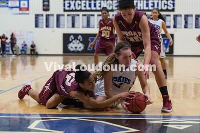 Girls Basketball: Broad Run vs. Tuscarora 2.20.16 (by Chas Sumser)