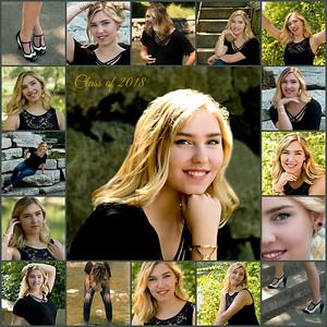 Claire senior pics