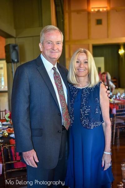 Keith Woodcock and Tracey Raymond