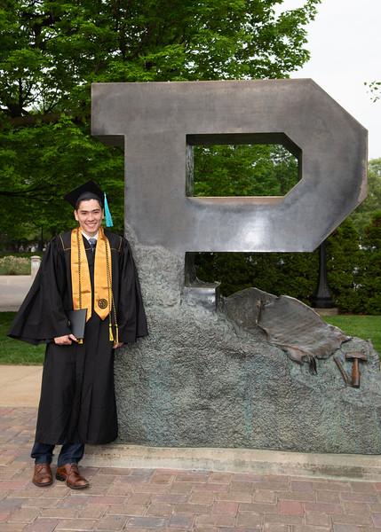 Austin's Purdue Graduation 2018