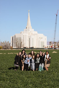 2013 YW at Gilbert Temple Under Construction 01-13-13