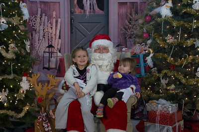 St. Luke Cookies with Santa 2017