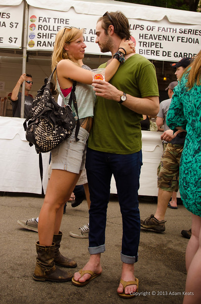 Love at the Green Music Fest in Wicker Park