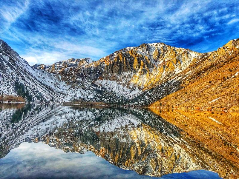 Convict Lake, Eastern Sierras, California