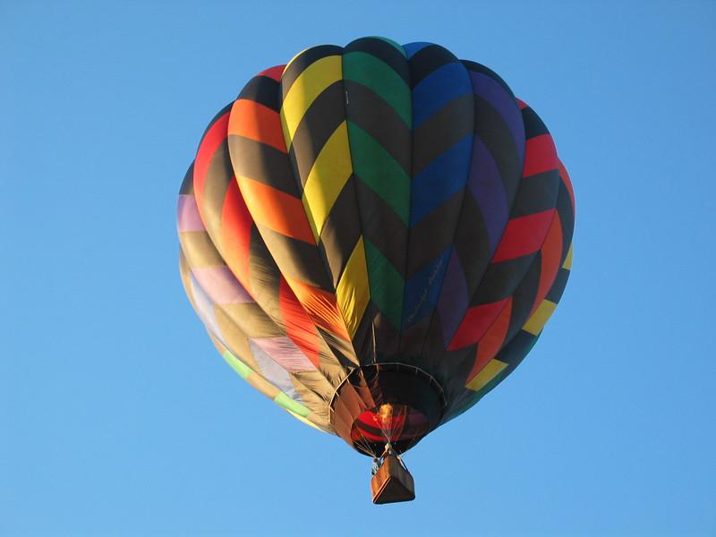 Midnight Rainbow Balloon