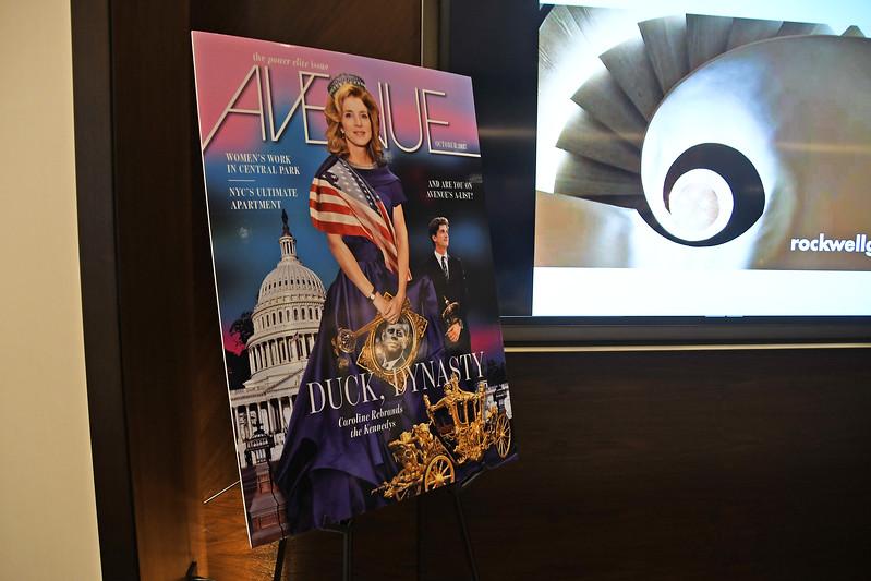 Atmosphere AVENUE MAGAZINE Presents the SALON DINNER & CONVERSATION with Architect and Designer DAVID ROCKWELL  10 Hudson Yards NYC, USA - 2017.10.17 Credit: Lukas Maverick Greyson