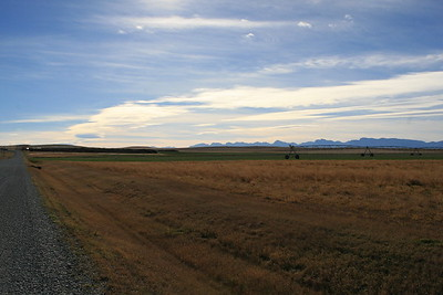North of Choteau - Montana