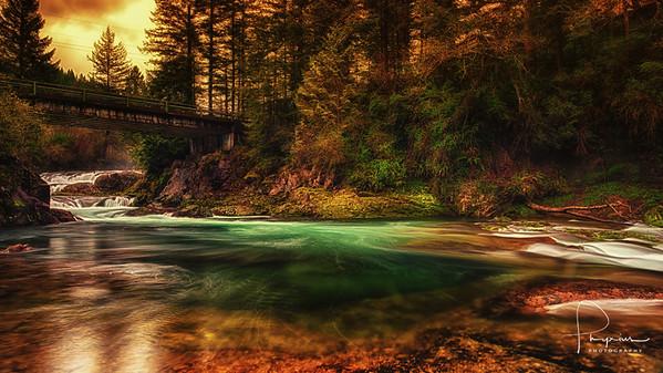 Dugan Falls, Washougal River, WA