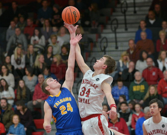 Boys Basketball: Wheaton North @ Naperville Central 1/22/2016