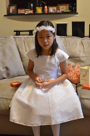 April 25, 2015 - Emily's First Communion at St Mary Catholic Church