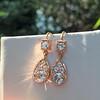 1.51ctw Diamond Mosaic OEC Dangle Earrings 0