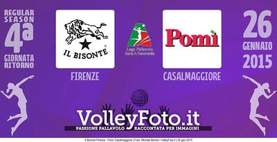 Il Bisonte Firenze - Pomì Casalmaggiore | 4ª ritorno