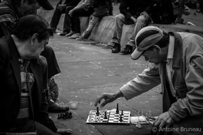 Plaza de Bolívar, Bogotá, Colombia.