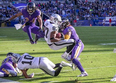 Ravens vs Raiders  11-25-18